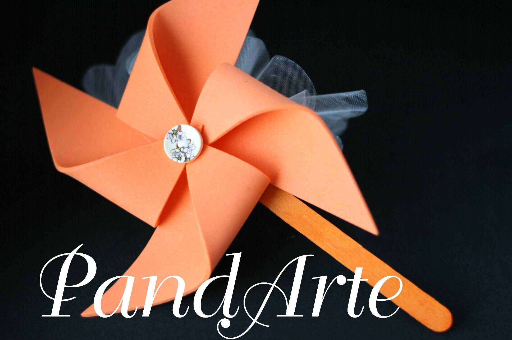 Girandola arancione