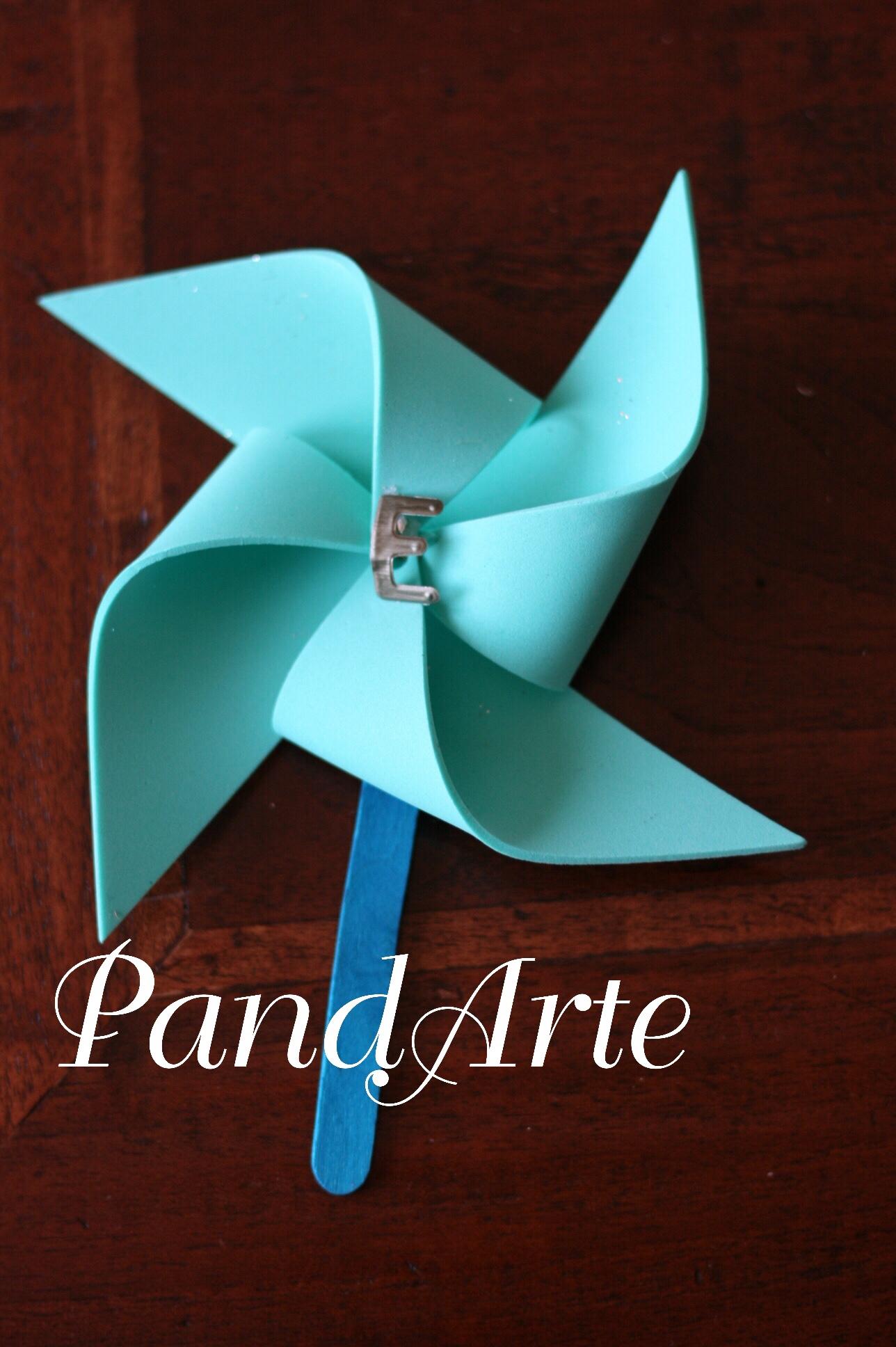 Girandola azzurro