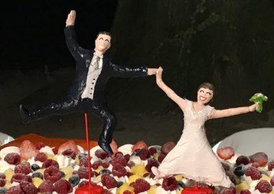 Sposi, pasta modellabile