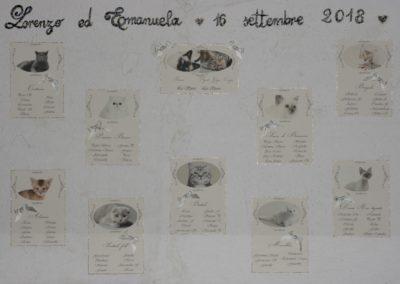 "Tableau de Mariage ""Lorenzo ed Emanuela"""
