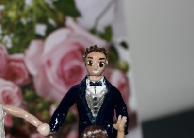 Sposo in pasta modellabile